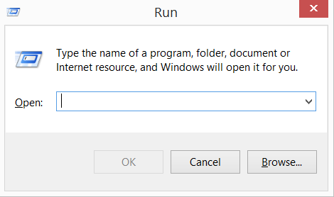 open-run-dialog-box