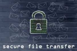 Three Secure Ways for Distributing Files