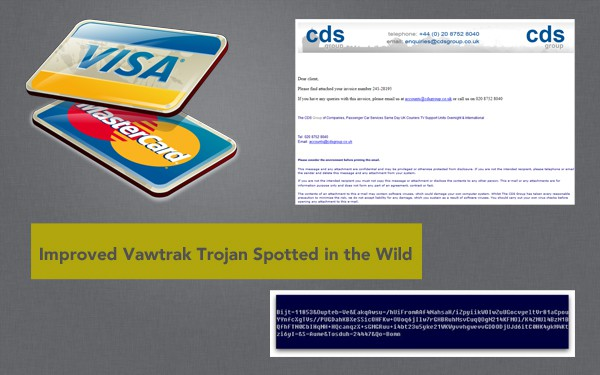 The Vawtrak Banking Trojan has been updated with advanced features
