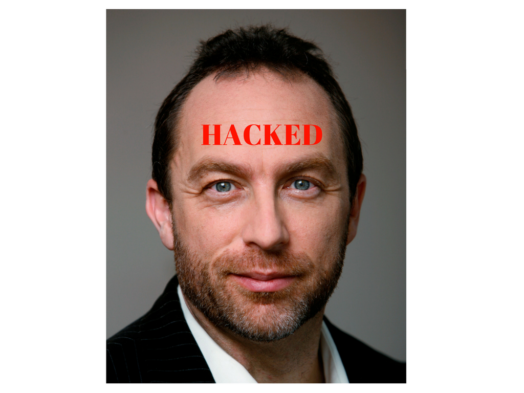 Wikipedia Founder's Twitter Account Hacked by OurMine