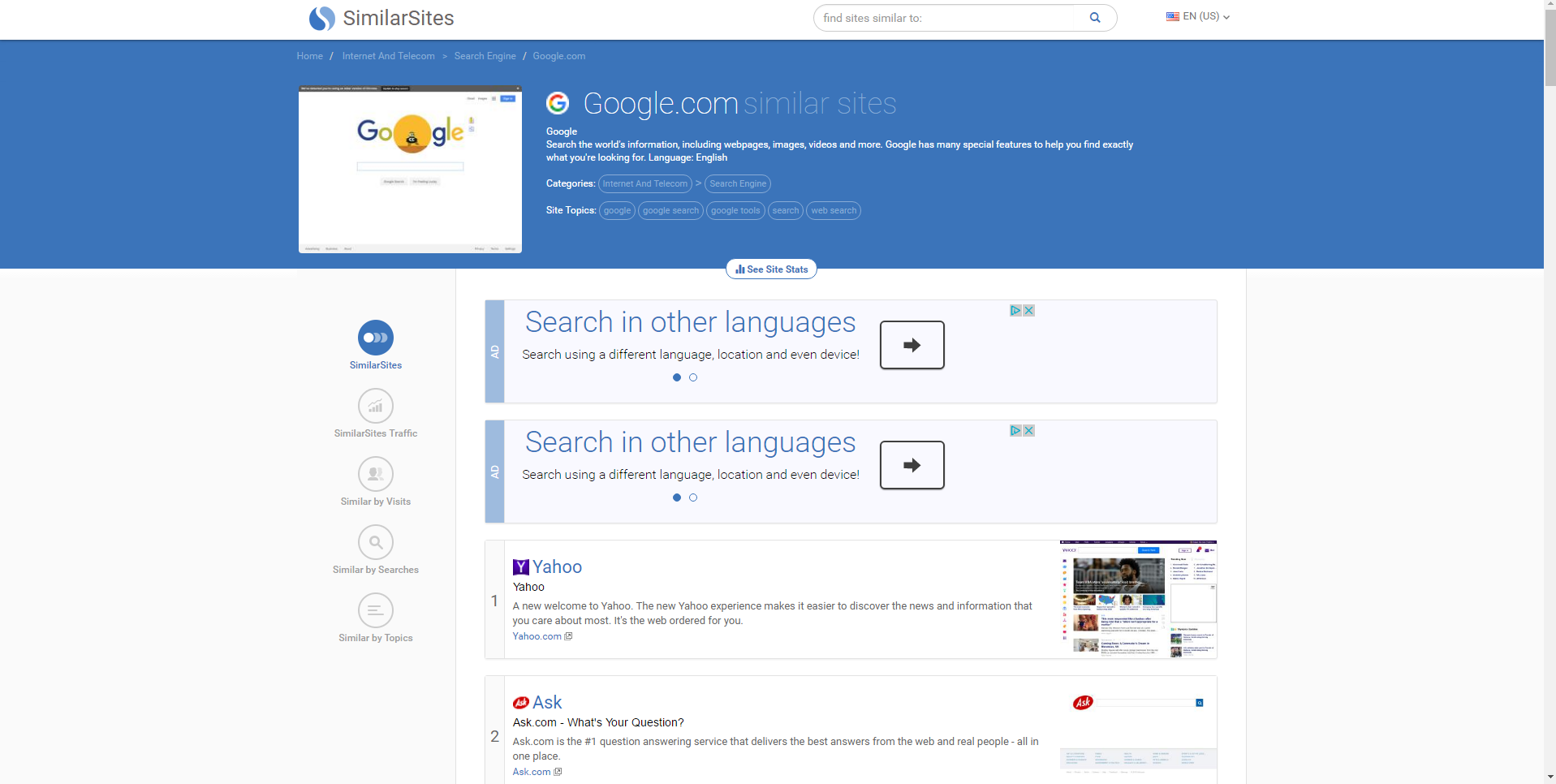 similarsites-hijacker-homepage-bestsecuritysearch