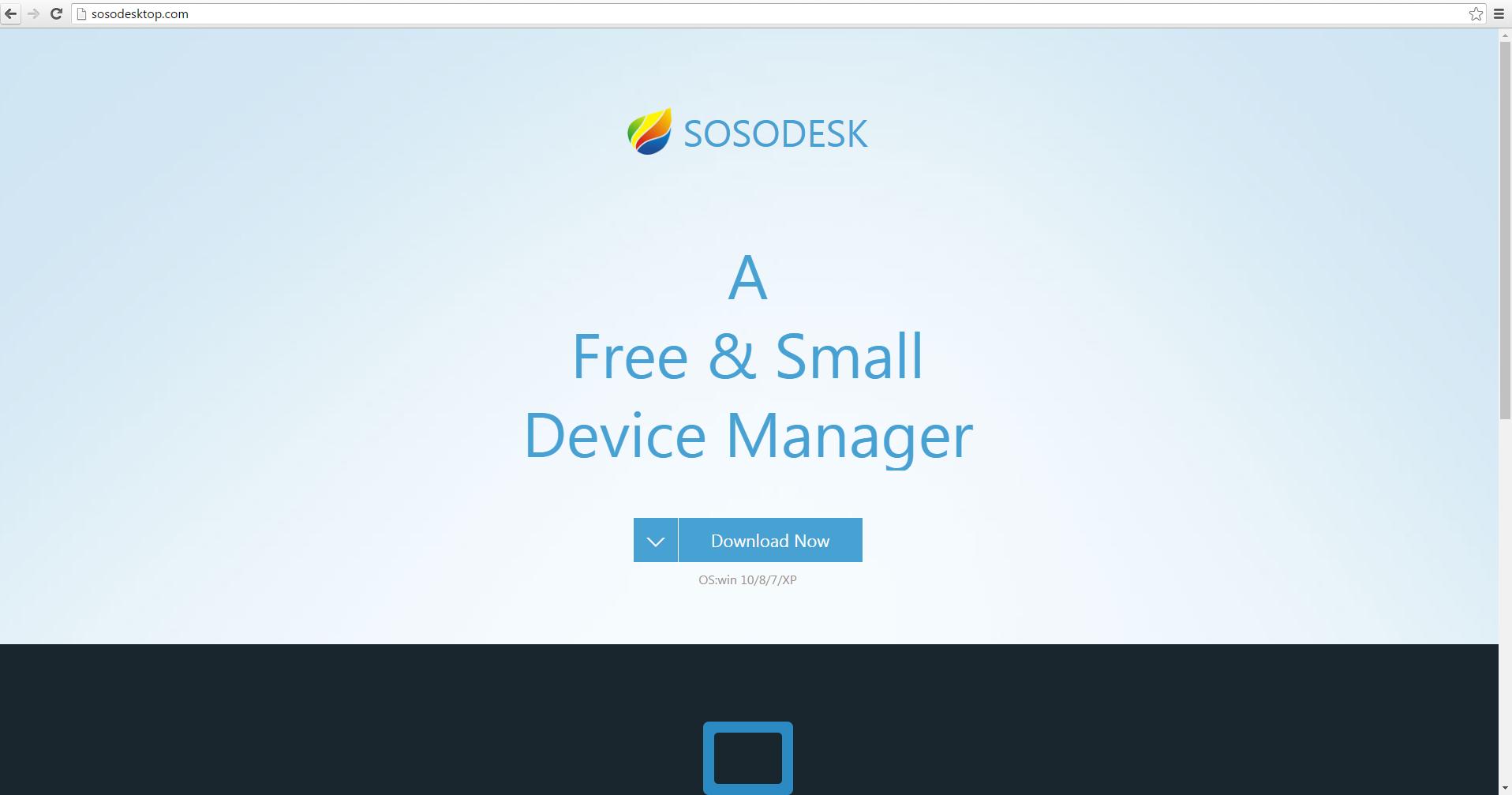 sosodesktop-mainpage-bestsecuritysearch