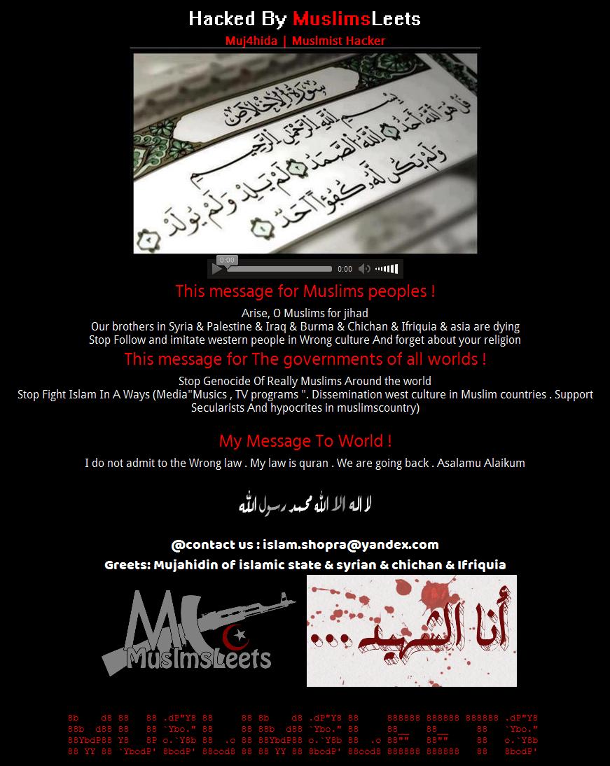 hackerleets-message