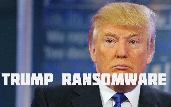 Donald Trump Ransomware In Development