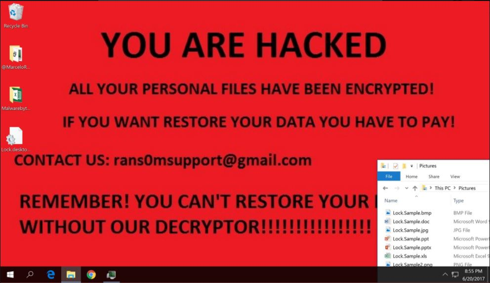 Crypt888 ransomware image