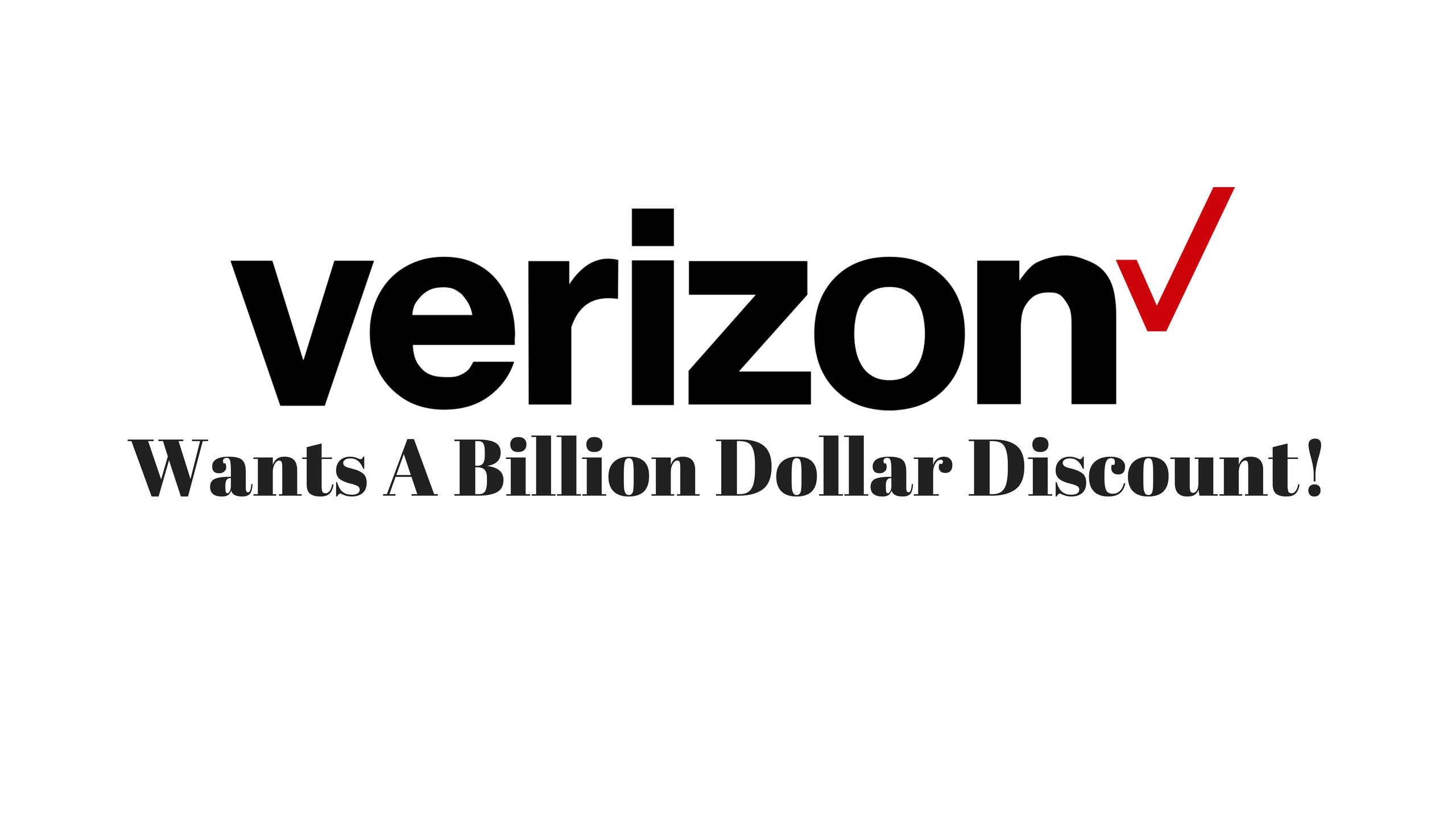 Verizon Backs Away From Yahoo – They Want A Billion Dollar Discount