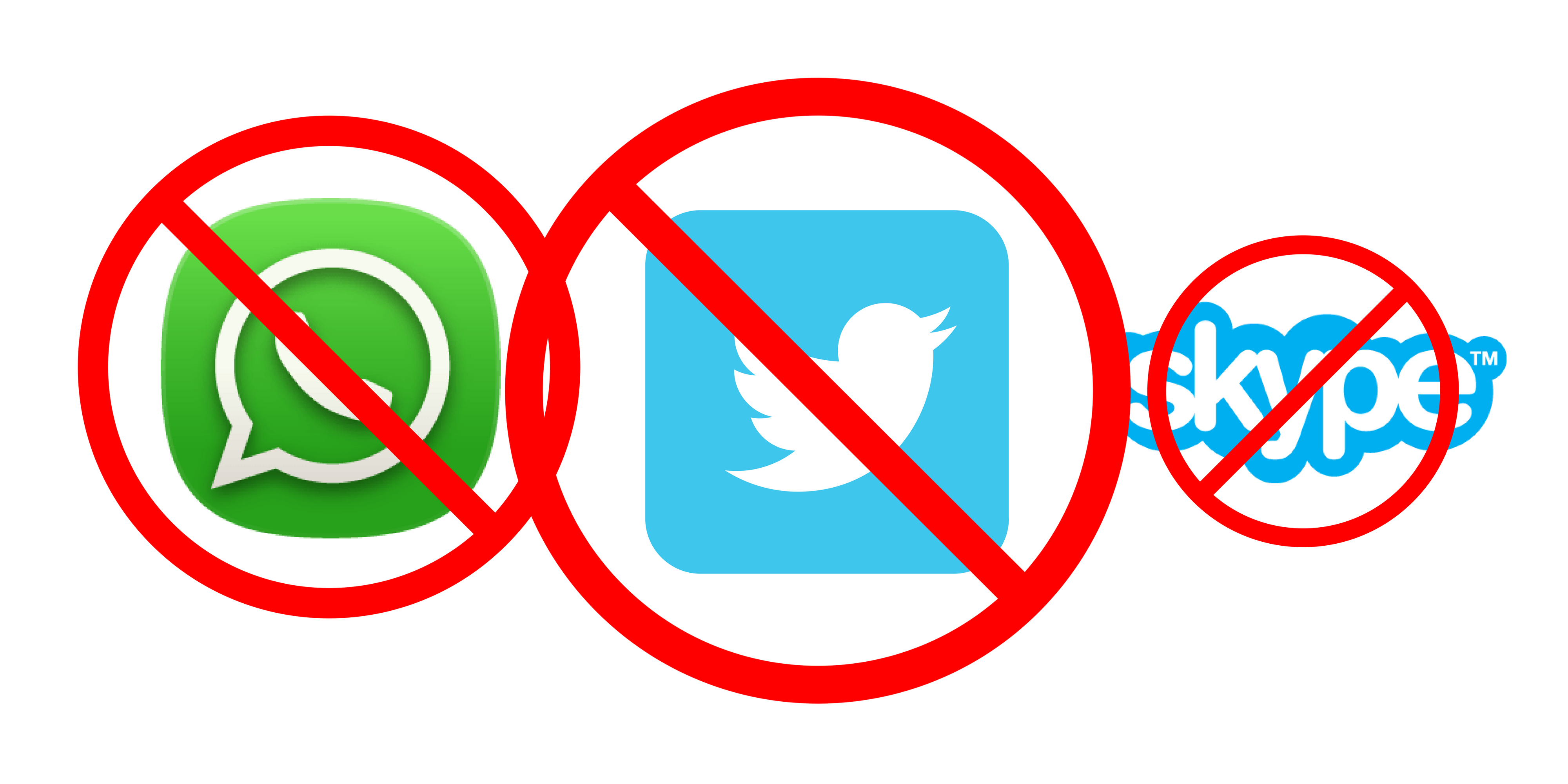 YouTube, WhatsApp, Skype, Twitter, and Other Social Media Sites Blocked by Turkey