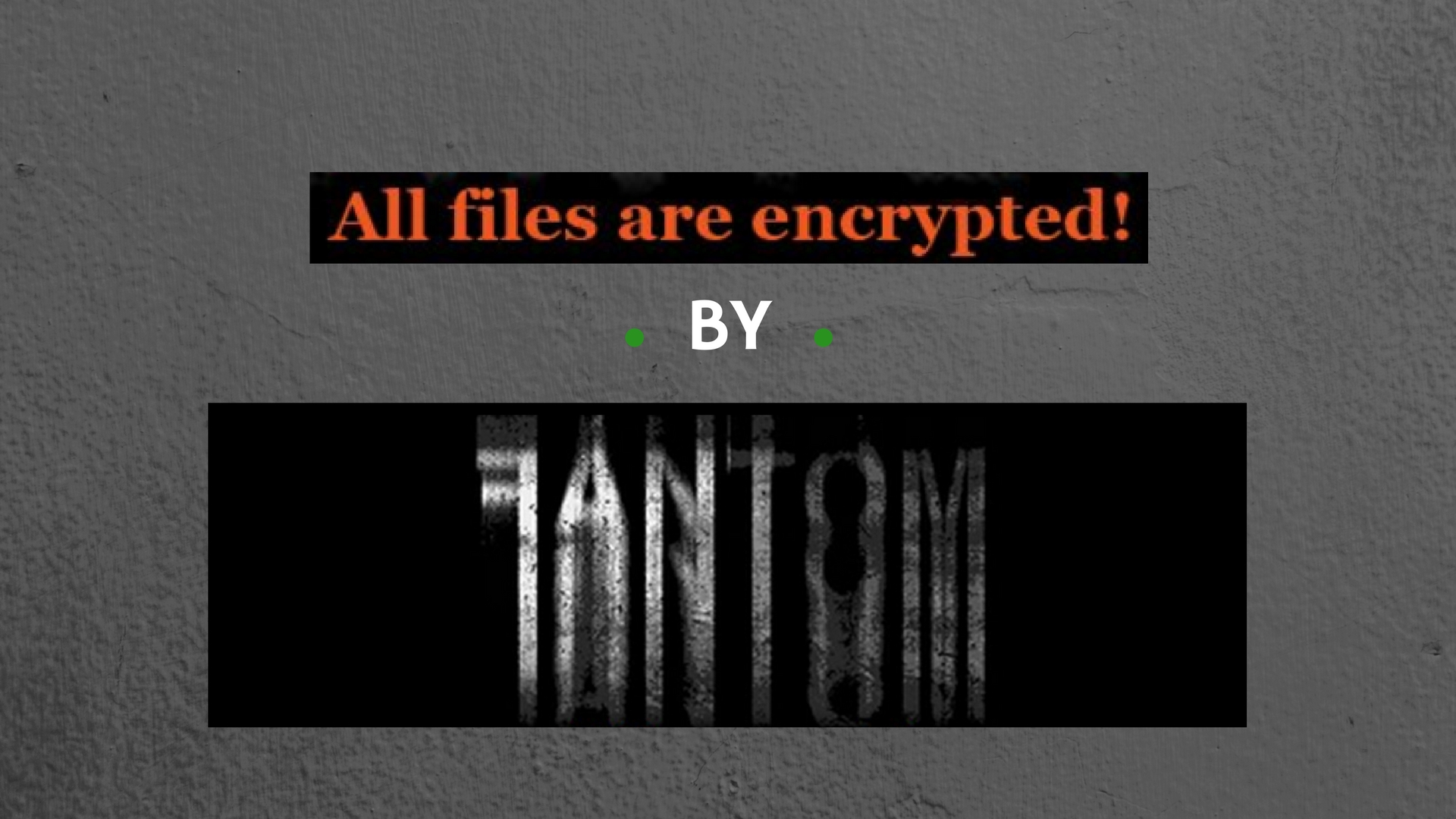 How to Remove Fantom (fantomd12@Yandex.ru) Ransomware