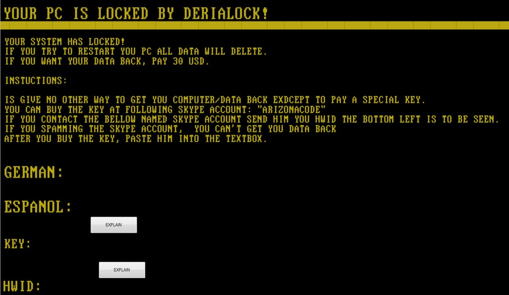 DeriaLock-ransomware-ransom-message-lock-screen-window-bestsecuritysearch