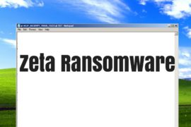 Zeta Ransomware Virus (Removal Steps and Protection Updates)