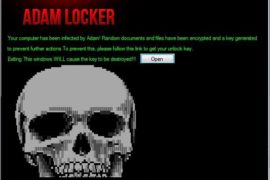 AdamLocker Ransomware Virus (Removal Steps and Protection Updates)