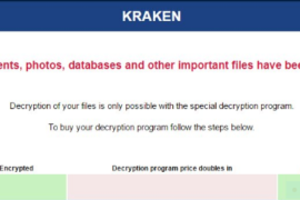 Kraken Ransomware Virus (Removal Steps and Protection Updates)