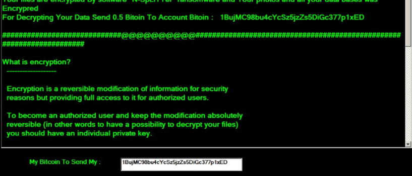N-SpLiTTer Ransomware Virus (Removal Steps and Protection Updates)