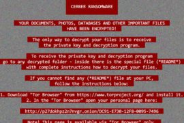 Updated Red Cerber 2017 Ransomware Virus (Removal Steps and Protection Updates)