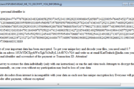 wuciwug Globe 3 Ransomware Virus (Removal Steps and Protection Updates)