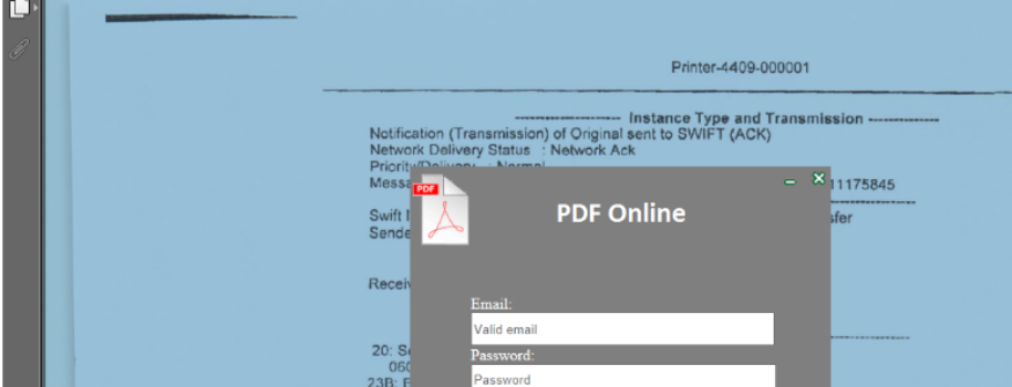 PDF Phishing Scam Campaign Revealed