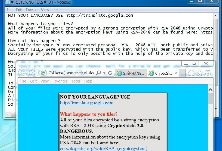 CryptoShield 2.0 Ransomware Virus (Removal Steps and Protection Updates)
