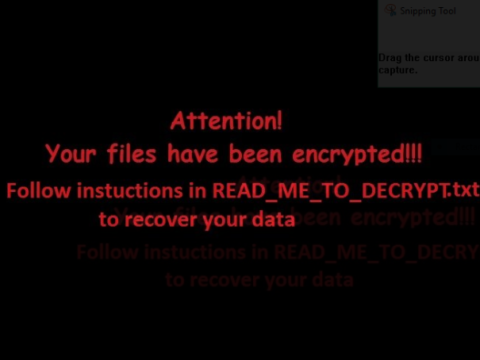 EnCrYpTeD Ransomware Virus (Removal Steps and Protection Updates)