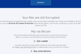 Erebus 2017 Ransomware Virus (Removal Steps and Protection Updates)