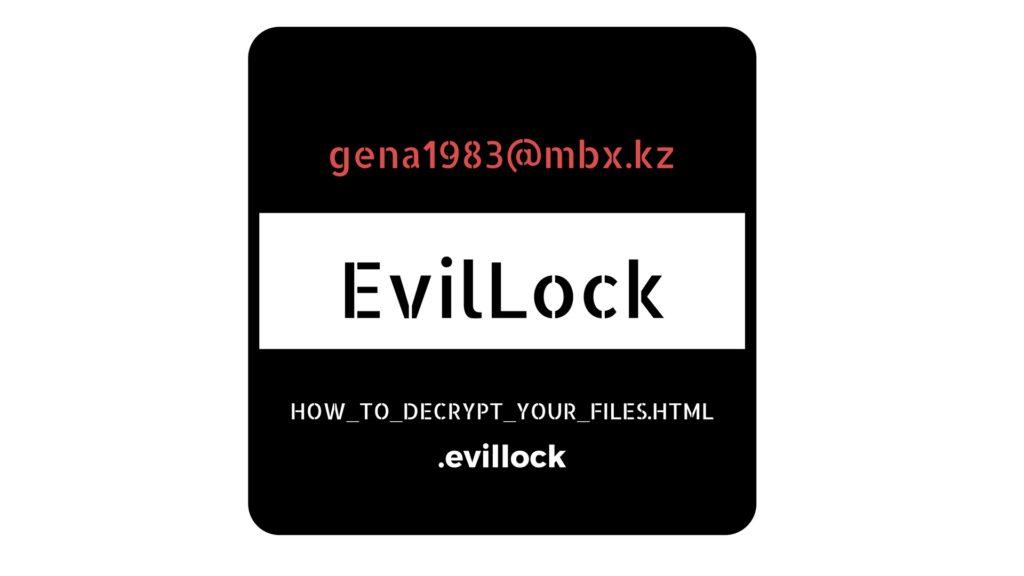 EvilLock Ransomware Removal and .Evillock Decryption