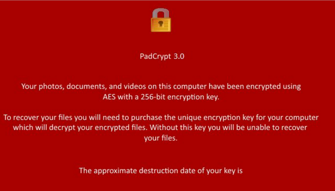 PadCrypt 3.2.2. Ransomware Virus (Removal Steps and Protection Updates)