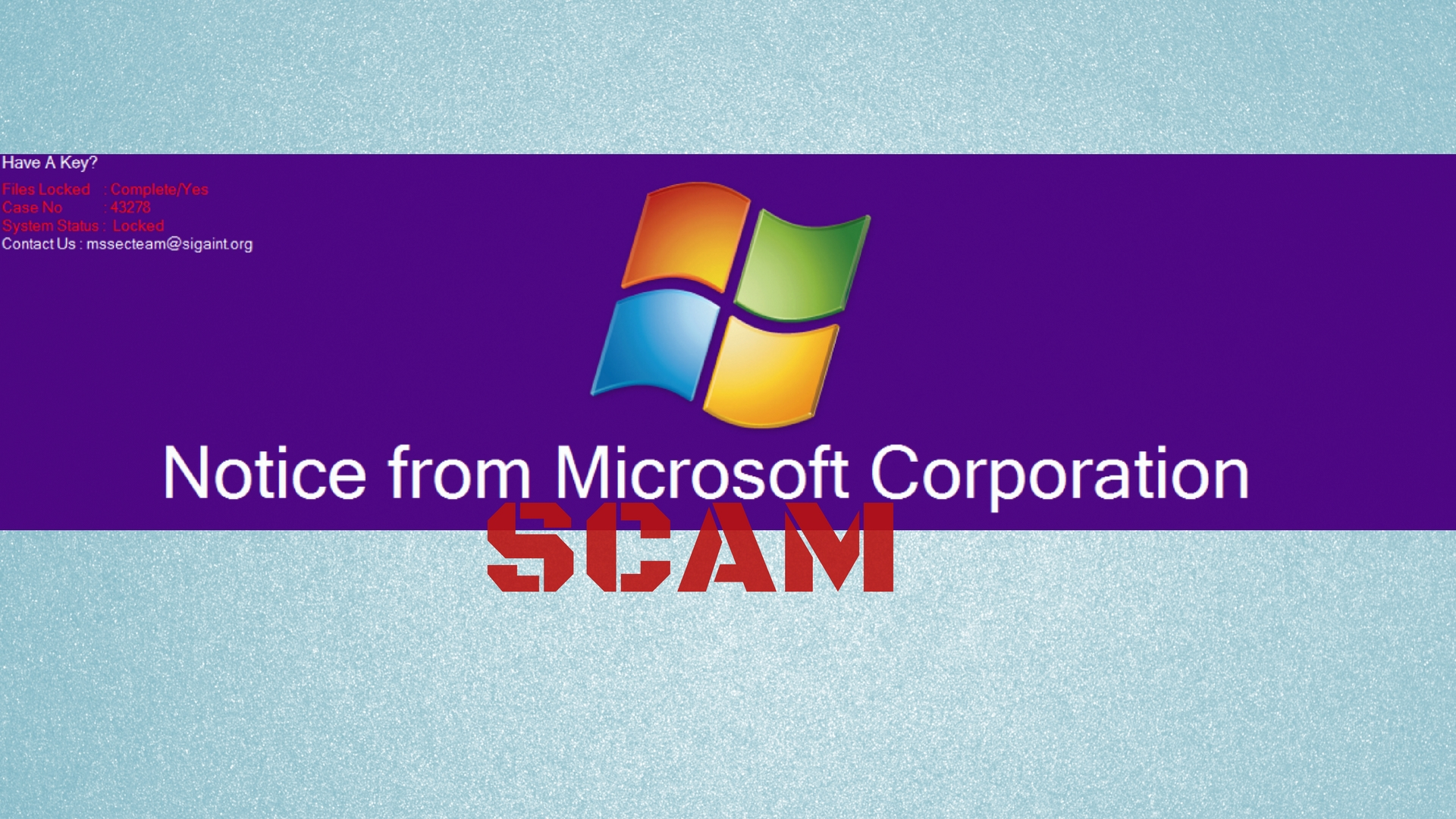 How to Remove MSSecTeam Tech Support Scam