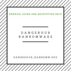 Dangerous ransomware removal guide and decryption help bestsecuritysearch bss