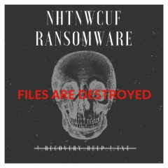 Nhtnwcuf ransomware destroys files bestsecuritysearch bss