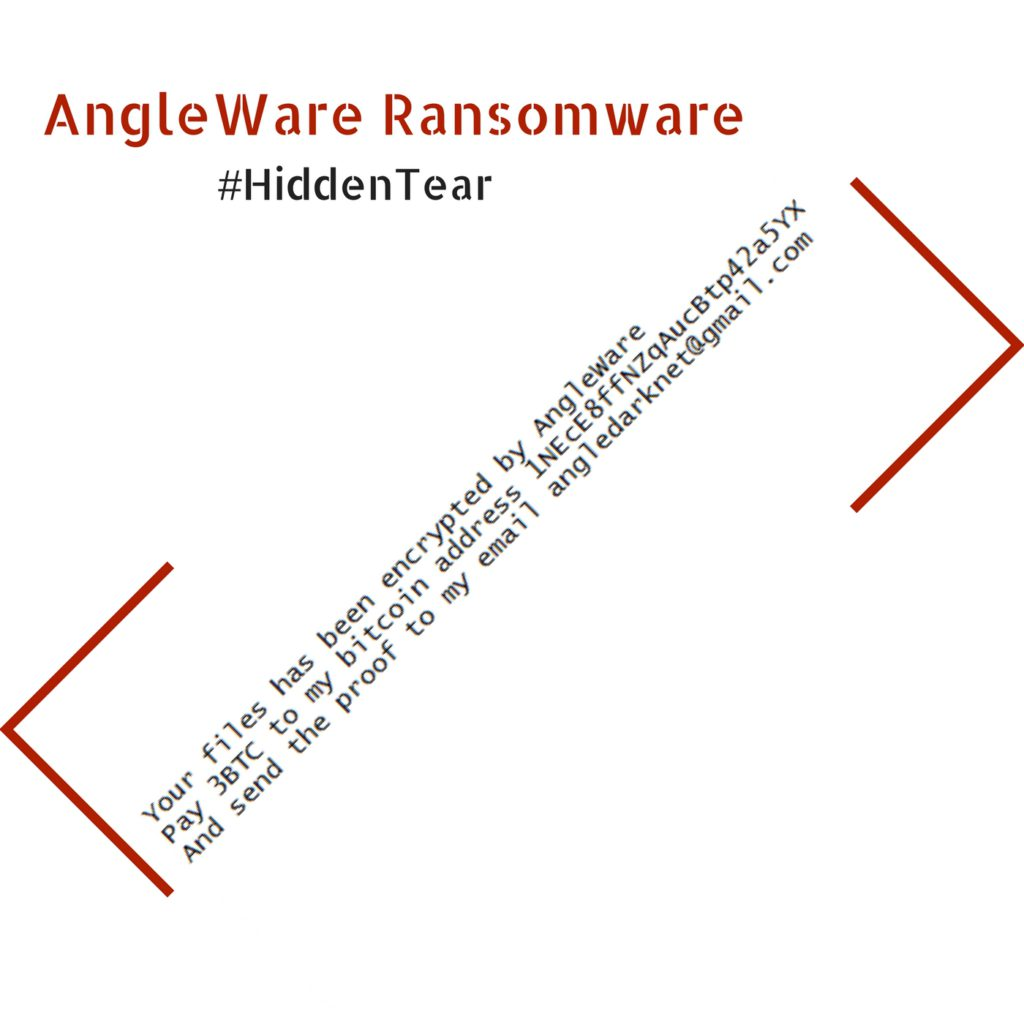 .AngleWare Virus File (AngleWare Ransomware) Removal and Decryption