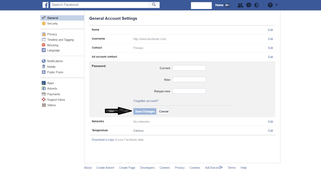 change-facebook-password-steps