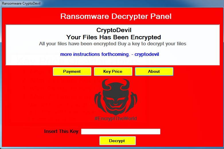 How To Restore Files Affected By CryptoDevil Ransomware (Removal Guide)