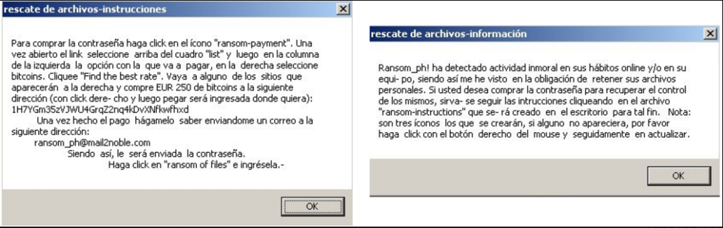 cryptojacky ransomware ransom notes ransom-instructions ransom-information