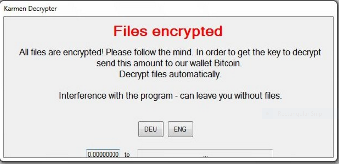 How To Restore Files Affected By Karmen Ransomware (Removal Guide)
