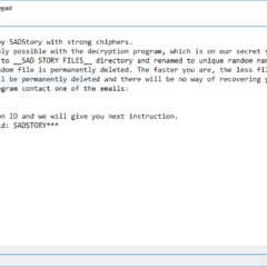 SADStory Ransomware Removal Instructions (Complete Guide)