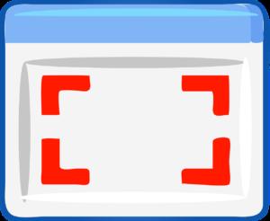 Application window image