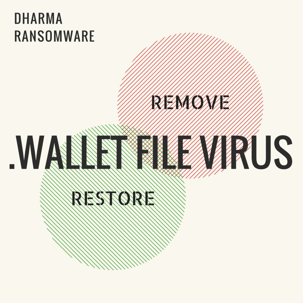 .Wallet File Virus (Dharma Ransomware) Remove It and Restore Data