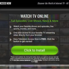 How To Remove The Easy Television Access Now Browser Hijacker From Your Computer (Complete Guide)
