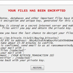 Fake WindowsUpdater Ransomware Note Image