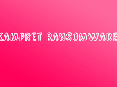 Kampret Ransomware Removal Instructions