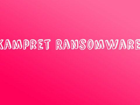 Kampret Ransomware Removal Instructions