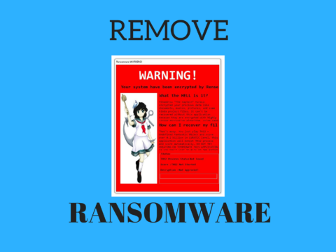 Remove RensenWare Ransomware Virus and Restore PC