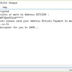 Blackrose ransomware ransom note
