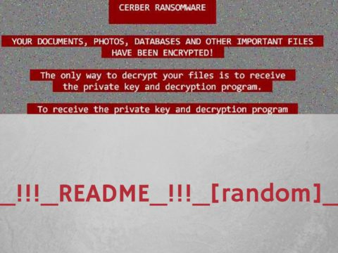 How to remove Cerber ransomware _!!!_README_!!!_[random]_.hta