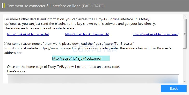 Fluffy-TAR Ransomware Note Image
