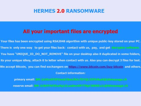 Hermes Ransomware Virus (Removal Steps and Protection Updates)