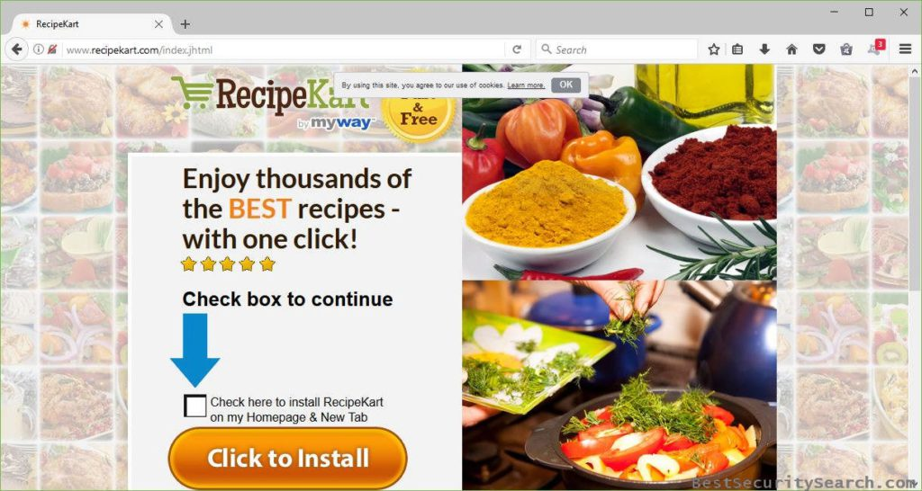 Remove The Malicious RecipeKart.com Browser Hijacker (Complete Guide)