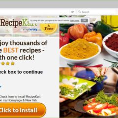 RecipeKart.com Browser Hijacker Featured Image