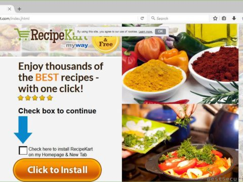 Remove The Malicious RecipeKart.com Browser Hijacker (Complete Guide)