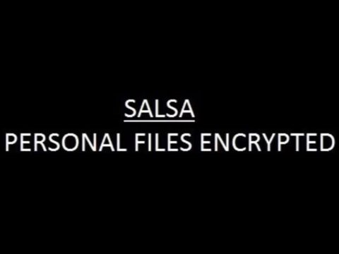 Remove Salsa Ransomware and Restore .Salsa222 Files