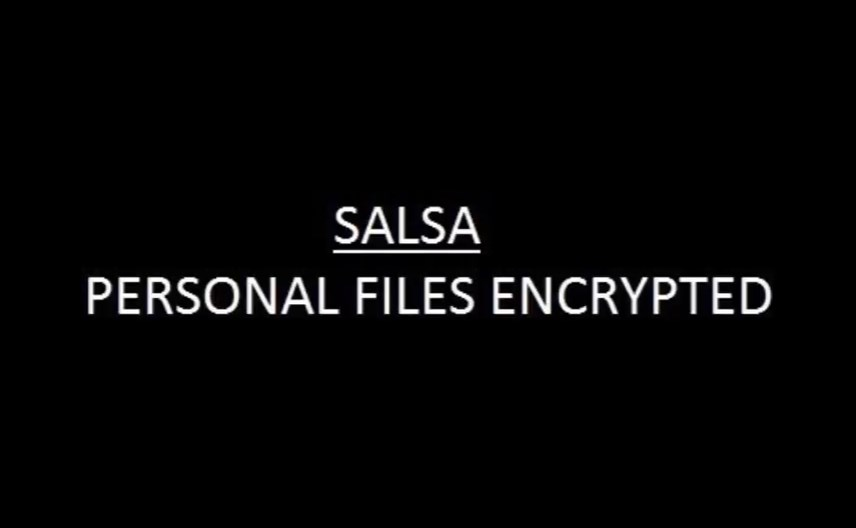 salsa-wallpaper personal files encrypted